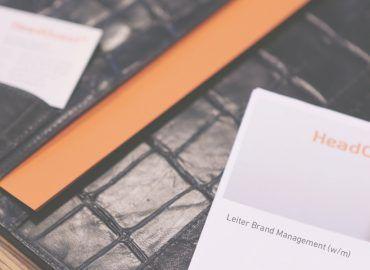 HeadQuest GmbH, Für Kandidaten, Initiativbewerbung
